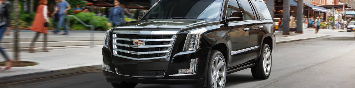 2020 Cadillac Escalade Black